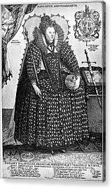 Elizabeth I (1533-1603) Acrylic Print by Granger