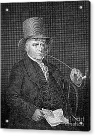 Elkanah Watson (1758-1842) Acrylic Print by Granger
