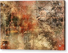 Entropy Acrylic Print by Christopher Gaston