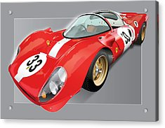Ferrari 330 P4 Acrylic Print