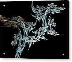 Foliage Acrylic Print by Michele Caporaso