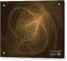 Fractal Image Acrylic Print by Ted Kinsman