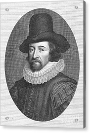 Francis Bacon (1561-1626) Acrylic Print by Granger