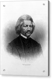 Frederick Douglass Ca 1817-1895 Acrylic Print by Everett