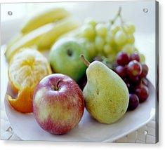 Fruits Acrylic Print by David Munns