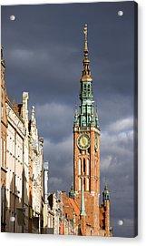 Gdansk Old Town Acrylic Print by Artur Bogacki