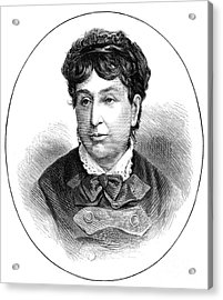 George Sand (1804-1876) Acrylic Print by Granger