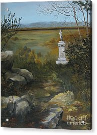 Gettysburg Monument Acrylic Print