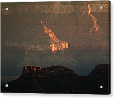 Grand Canyon Acrylic Print by Aurica Voss