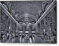 Grand Central Station Acrylic Print by Susan Candelario