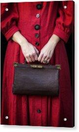 Handbag Acrylic Print by Joana Kruse