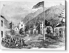 Harpers Ferry Insurrection, 1859 Acrylic Print by Photo Researchers