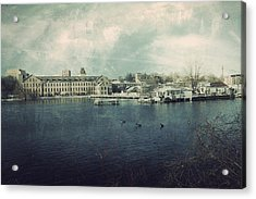 Historic Fox River Mills Acrylic Print