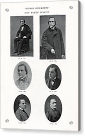 Jean-martin Charcot, French Neurologist Acrylic Print by Humanities & Social Sciences Librarynew York Public Library