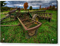 John Deere Acrylic Print by Mike Horvath