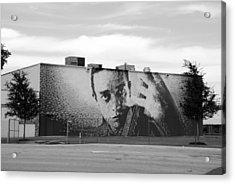 Johnny Cash Acrylic Print by Rob Hans