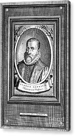 Justus Lipsius (1547-1606) Acrylic Print by Granger