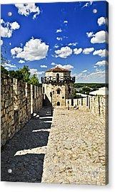 Kalemegdan Fortress In Belgrade Acrylic Print