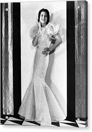 Kay Francis, Circa 1930s Acrylic Print by Everett