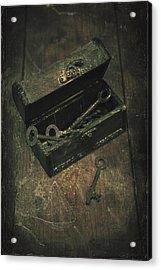 Keys Acrylic Print by Joana Kruse