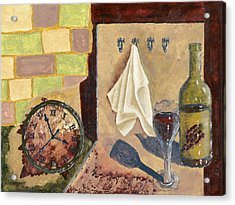 Kitchen Collage Acrylic Print