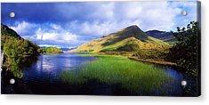 Kylemore Lake, Co Galway, Ireland Lake Acrylic Print by The Irish Image Collection