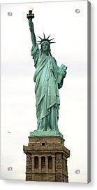 Lady Liberty Acrylic Print by Raymond Earley
