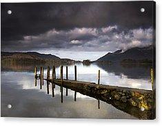 Lake Derwent, Cumbria, England Acrylic Print by John Short