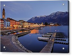 Lake Maggiore - Ascona Acrylic Print by Joana Kruse