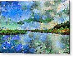 Lake View Acrylic Print by Yury Malkov