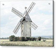 Largny Mill Largny Sur Automne France Acrylic Print by Joseph Hendrix