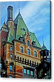 Le Chateau ... Acrylic Print by Juergen Weiss