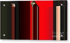 Liquid Door Acrylic Print by Ulrich Lange
