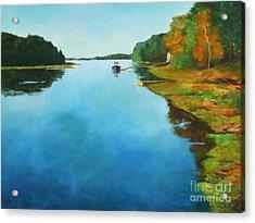 Little River Gloucester Acrylic Print