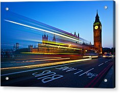 London Big Ben Acrylic Print