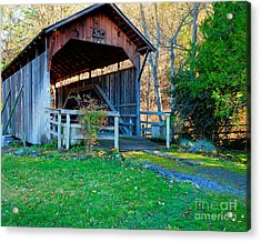 Lost Creek Bridge Acrylic Print by Jim Adams