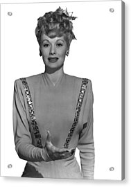 Lucille Ball, Ca. Mid-1940s Acrylic Print by Everett