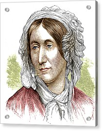 Mary Somerville, Scottish Polymath Acrylic Print by Science Source