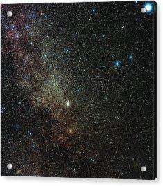 Milky Way In Cygnus Acrylic Print by Eckhard Slawik