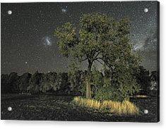 Milky Way Over Parkes Observatory Acrylic Print by Alex Cherney, Terrastro.com