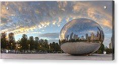 Millennium Park In Chicago Acrylic Print