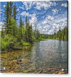 Mirror Lake Acrylic Print by Stephen Campbell