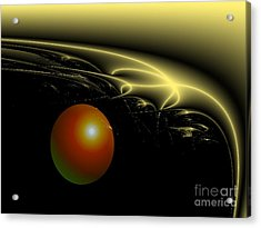 A Star Was Born, From The Serie Mystica Acrylic Print