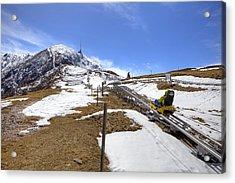 Monte Tamaro - Alpe Foppa - Ticino - Switzerland Acrylic Print by Joana Kruse