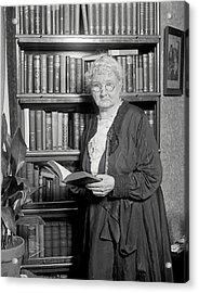 Mother Jones. Mary Harris Jones, Photo Acrylic Print by Everett