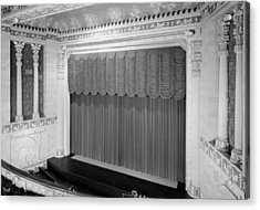 Movie Theaters, Missouri Theater Acrylic Print by Everett