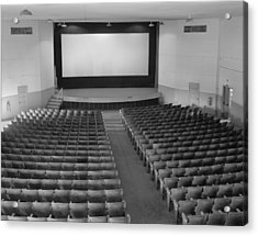 Movie Theaters, The Fort Mccoy Acrylic Print by Everett