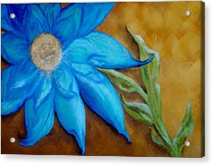 Acrylic Print featuring the painting My Only Sunshine by Annamarie Sidella-Felts