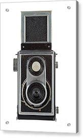 Old Camera Acrylic Print by Michal Boubin