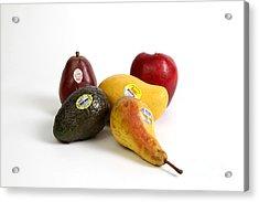 Organic Produce Acrylic Print